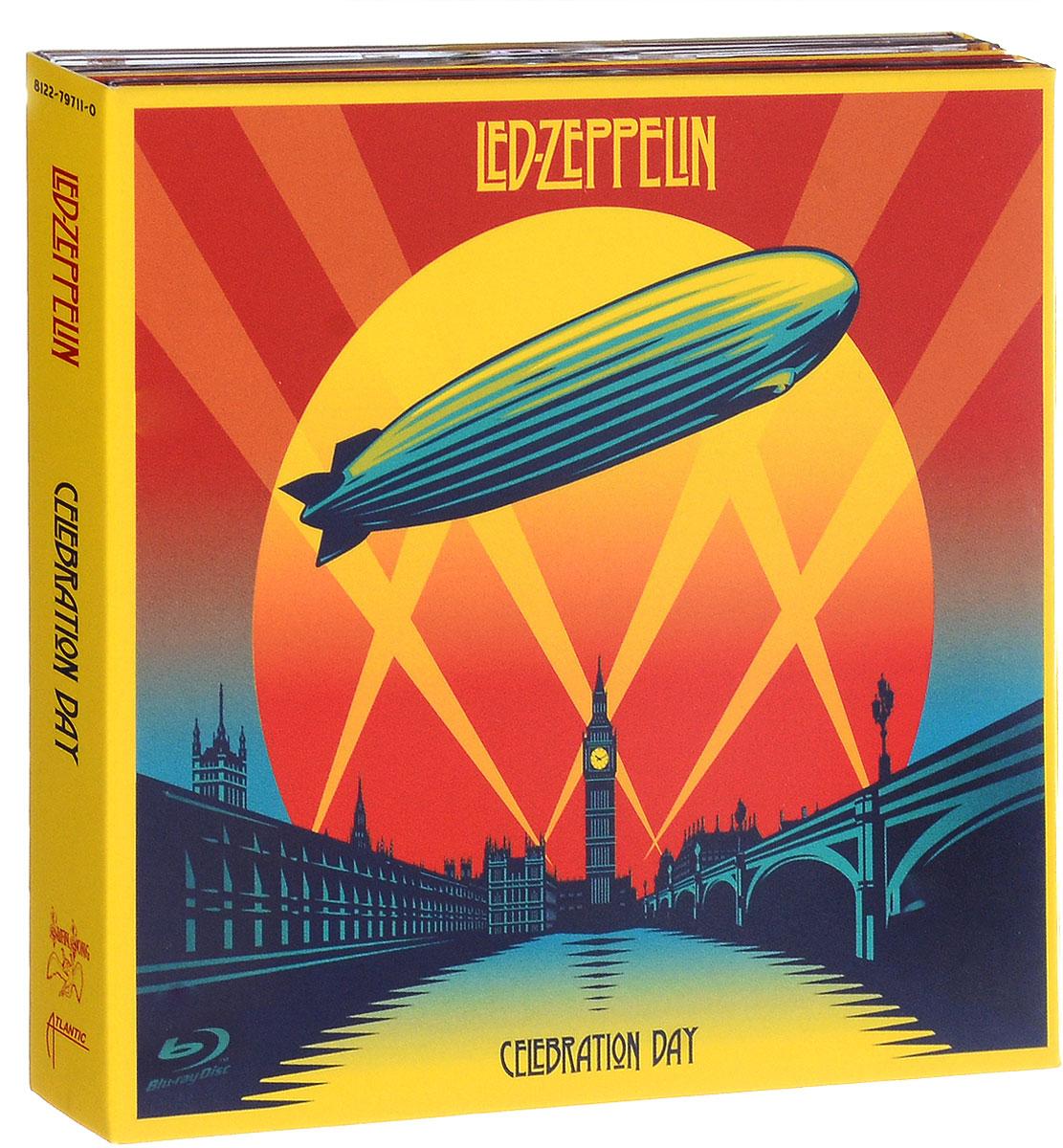 Led Zeppelin Led Zeppelin. Celebration Day (2 CD + Blu-ray) супер детективы 2 4 blu ray