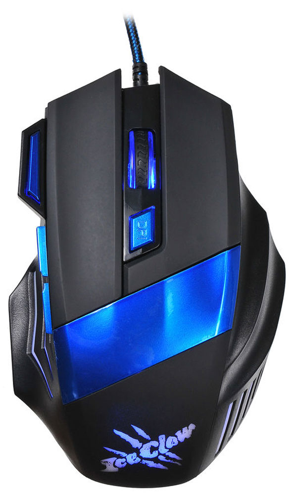 Игровая мышь Oklick 775G Ice Claw, Black Blue
