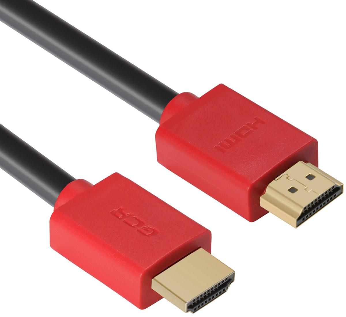 Фото - Кабель Greenconnect HDMI 2.0, GCR-HM451-3.0m, HDR 4:2:2, UltraHD, 4K 60Hz/5K*30Hz, 3D, AUDIO, 28 AWG, 3х экран, 3.0m аксессуар mobiledata hdmi 4k v 2 0 плоский 1 8m hdmi 2 0 fn 1 8