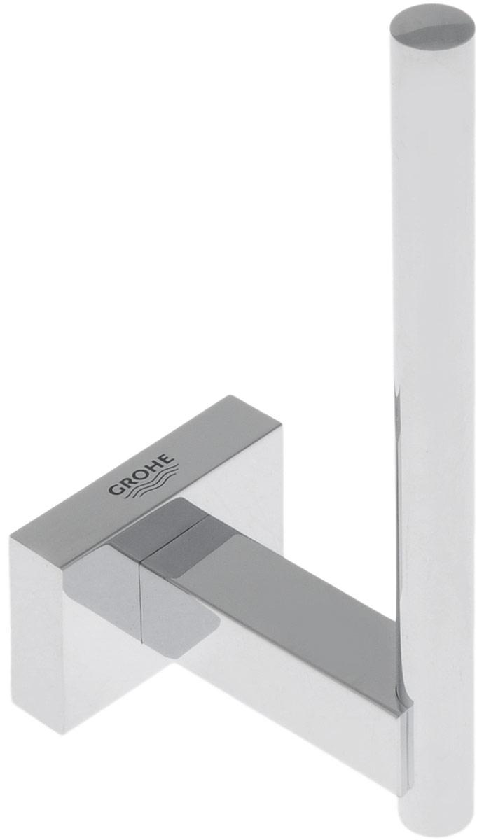 Держатель для запасного рулона туалетной бумаги Grohe Essentials Cube, 6 х 4,3 х 12 см держатель для запасного рулона туалетной бумаги grohe essentials