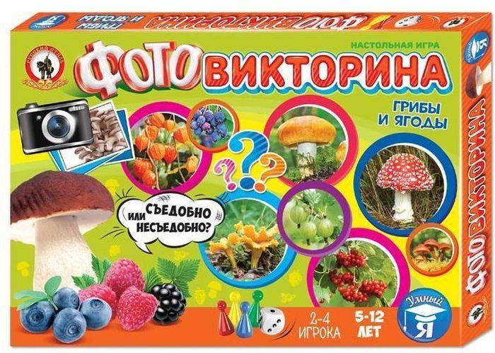 Русский стиль Настольная игра Фотовикторина Грибы и ягоды настольная игра русский стиль магия математики 53247