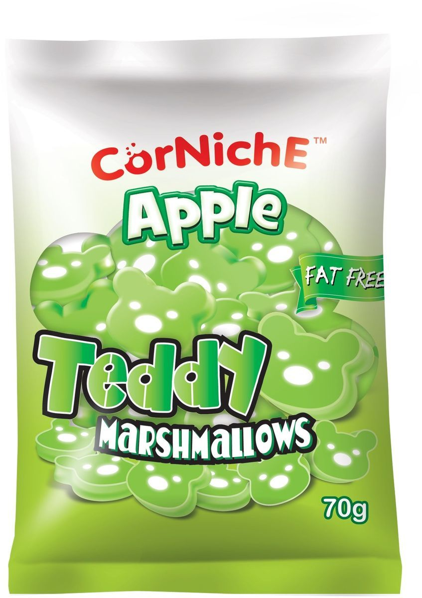 Corniche Marshmallows тедди яблоко, 70 г marshmallows