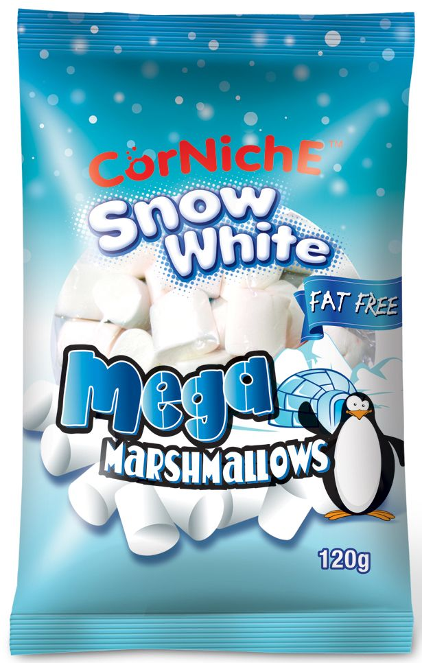 Corniche Marshmallows снежок, 120 г marshmallows