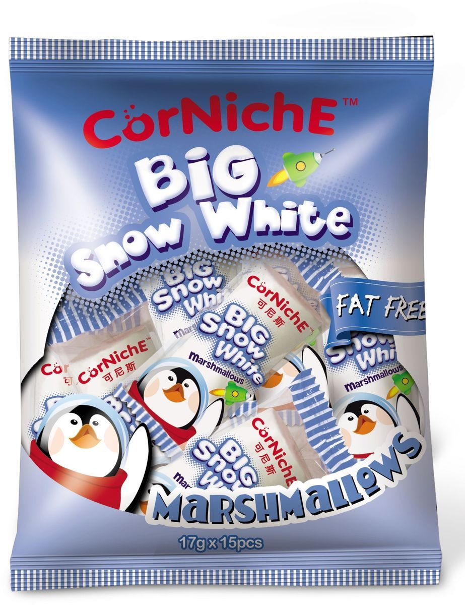 Corniche Marshmallows большой снежок, 255 г marshmallows