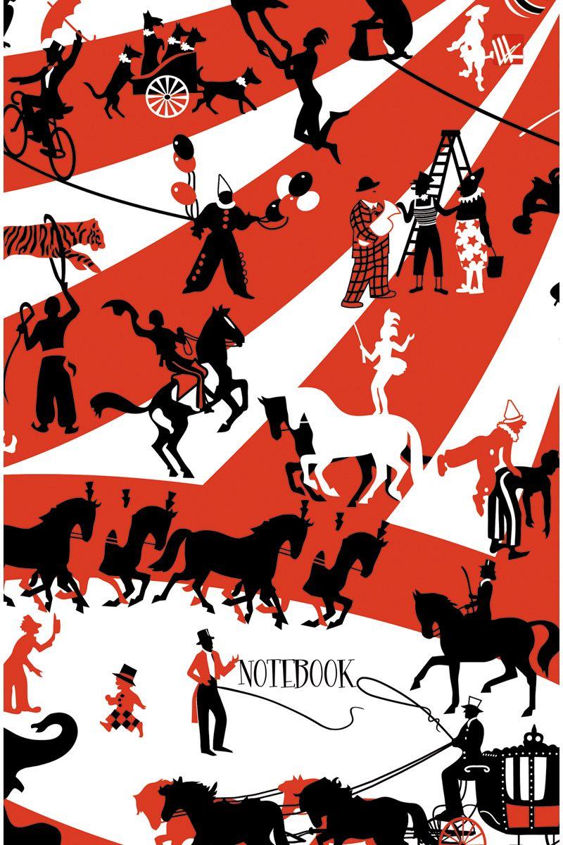 Канц-Эксмо Записная книжка Графика Цирк 112 листов в клетку канц эксмо записная книжка государственная символика россия 160 листов в клетку
