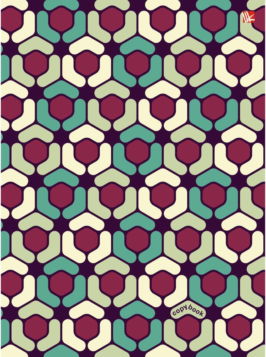 Канц-Эксмо Тетрадь Геометрический орнамент 100 листов в клетку