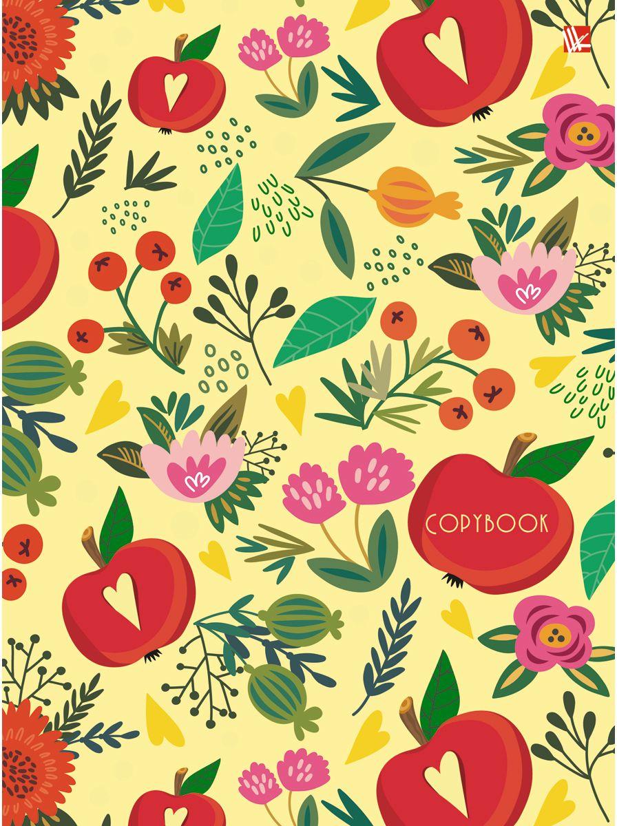 Канц-Эксмо Тетрадь Орнамент Цветущий сад 100 листов в клетку канц эксмо тетрадь гармония цвета 96 листов в клетку
