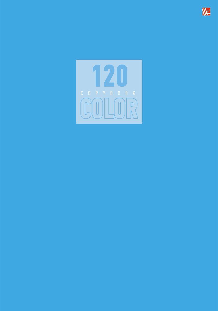 Канц-Эксмо Тетрадь Стиль и цвет 120 листов в клетку цвет голубой Т41205191582220Тетрадь А4 120 листов на швейно-клеевом креплении, клетка. Обложка мелованный картон повышенного качества, матовая ламинация. Бумага офсет 60г/м2