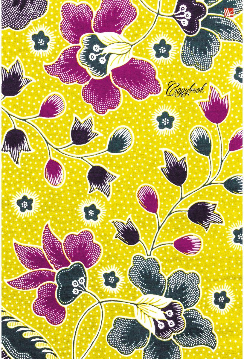 Канц-Эксмо Тетрадь Орнамент Цветочное настроение 96 листов в клетку канц эксмо тетрадь гармония цвета 96 листов в клетку