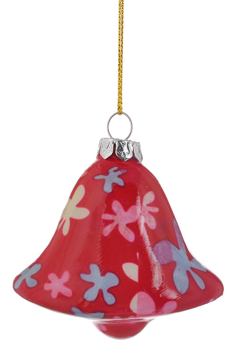 """Украшение новогоднее подвесное Lillo """"Колокольчик"""", высота 7 см"""