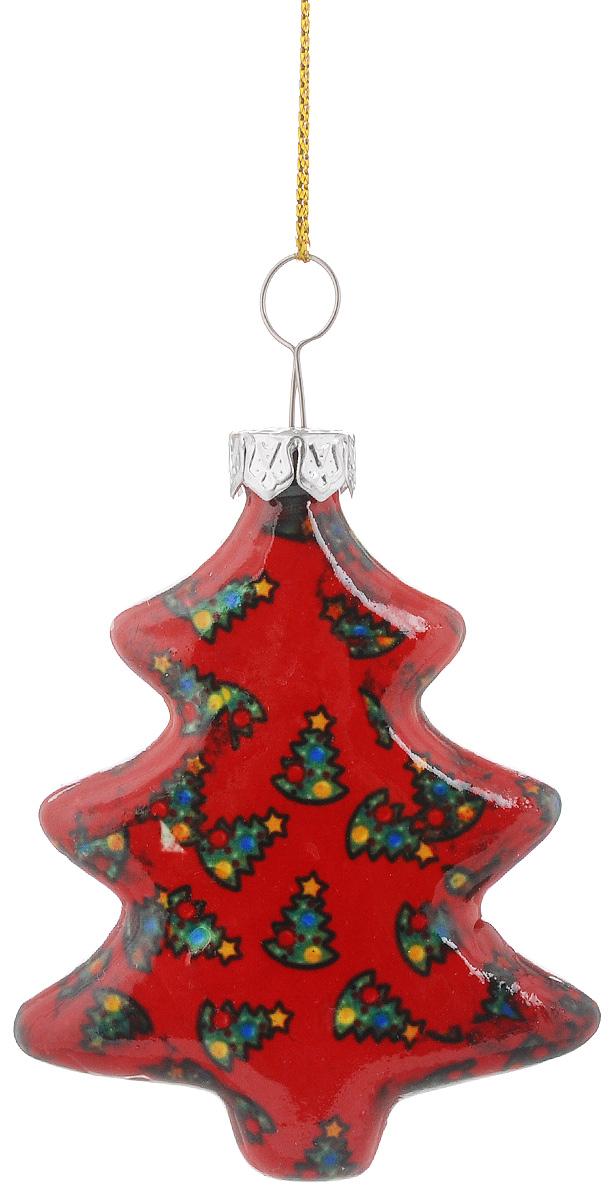 """Украшение новогоднее подвесное Lillo """"Елочка"""", высота 6 см"""