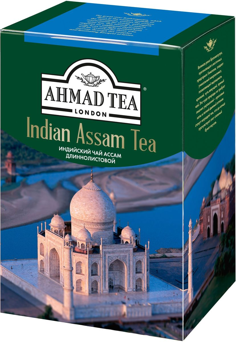 Ahmad Tea Indian Assam чай черный листовой, 200 г цена
