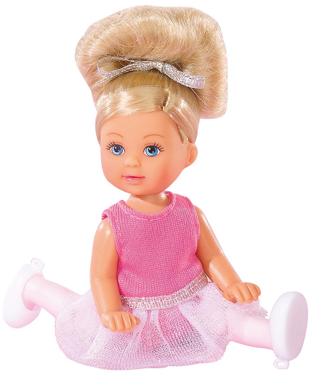 Simba Кукла Еви балерина 12 см цвет белый розовый кукла simba еви на лошади 12 см