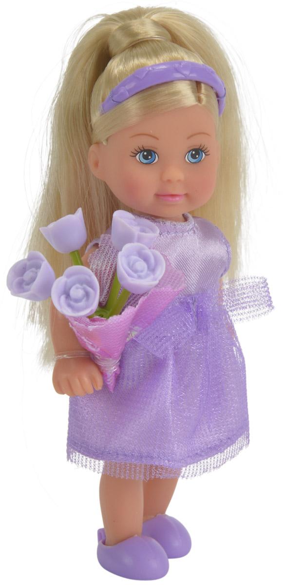 Simba Мини-кукла Еви подружка невесты цвет платья фиолетовый
