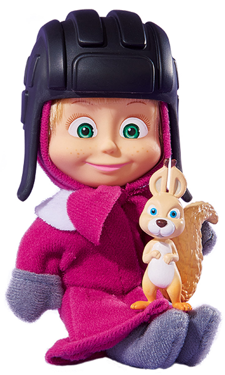 Simba Мини-кукла Маша с белкой simba кукла маша с велосипедом маша и медведь simba