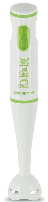 Polaris PHB 0508, White Green, блендер адаптеры для щеток стеклоочистителя rekzit tl c верхним замком 2 шт