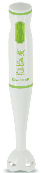 Polaris PHB 0508, White Green, блендер блендер polaris phb 0508 погружной белый зеленый