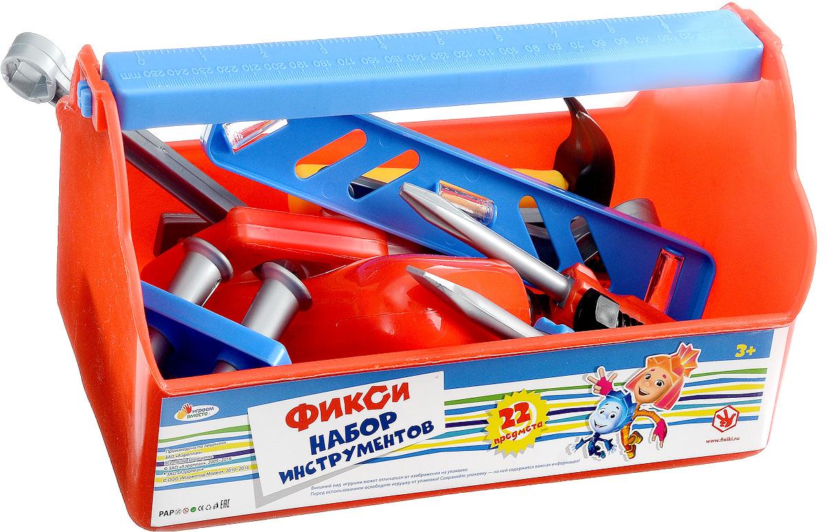 Играем вместе Набор игрушечных инструментов Фиксики 22 предмета B619659-R1 наборы игрушечных инструментов altacto шуруповёрт