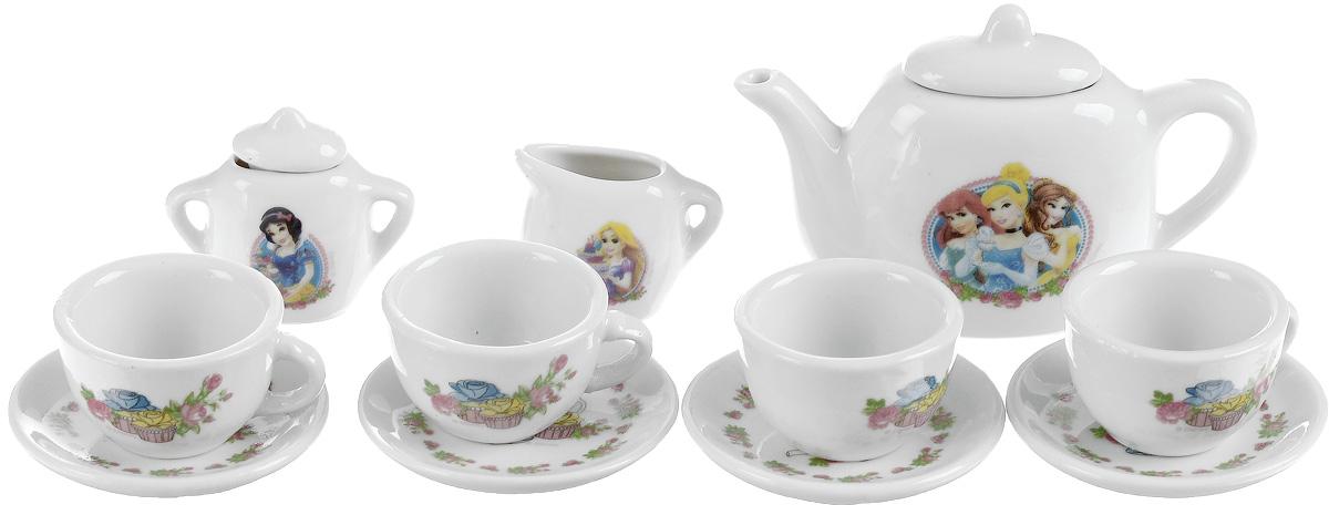 Фото - Играем вместе Игрушечный чайный набор Принцессы 11 предметов росигрушка игрушечный чайный набор большая компания