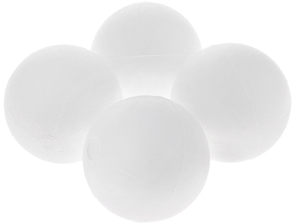 "Основа для декорирования Астра ""Шар"", диаметр 7 см, 4 шт"