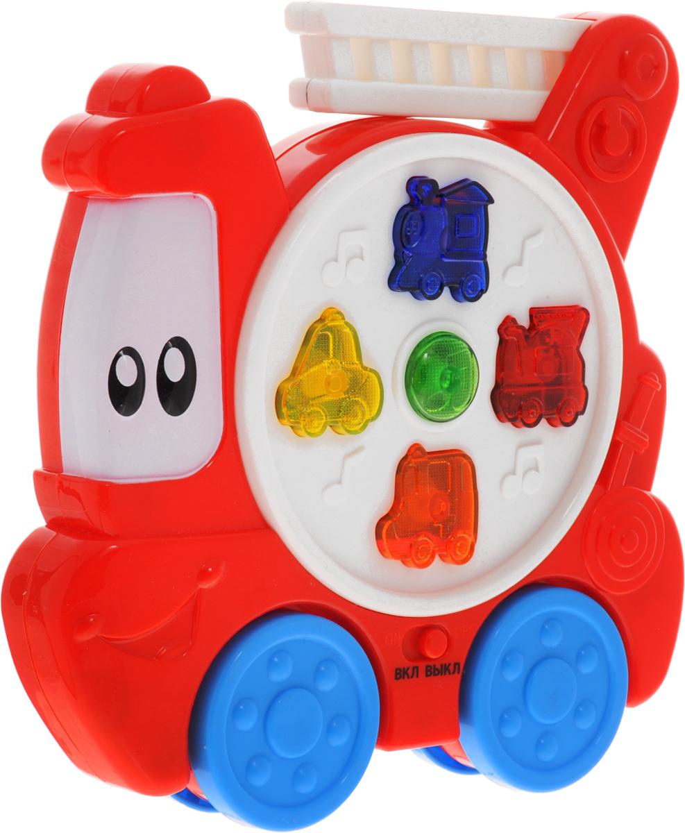 Умка Развивающая игрушка Пожарная машинка