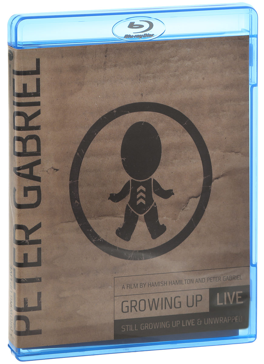 Peter Gabriel: Growing Up Live + Still Growing Up Live & Unwrapped (Blu-ray + DVD) lindsey stirling live from london blu ray