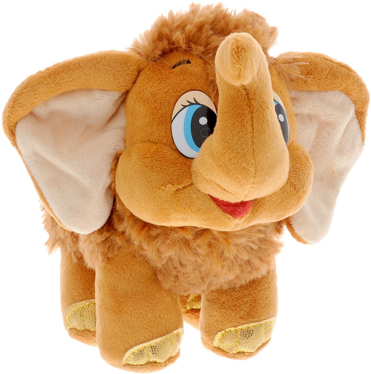 Мульти-Пульти Мягкая игрушка Мамонтенок 20 см