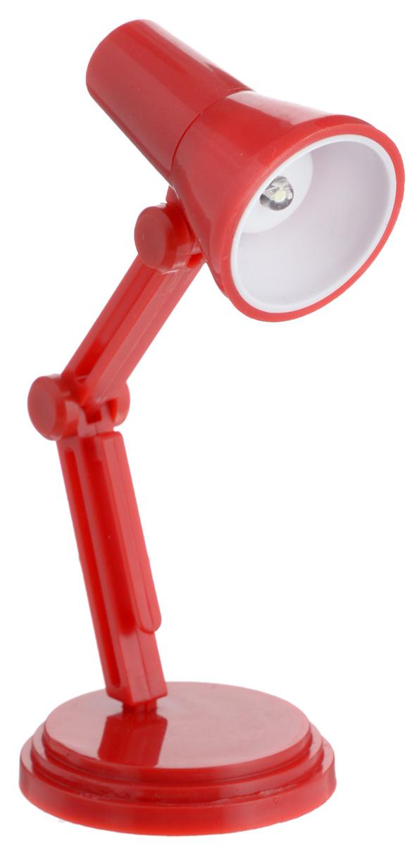 Фото - Светильник для чтения книг Эврика, цвет: красный светильник для чтения книг эврика цвет оранжевый