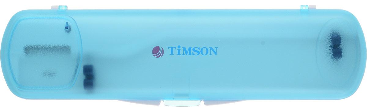 """Ультрафиолетовый стерилизатор для зубной щетки """"Timson ТО-01-27"""", цвет: голубой"""