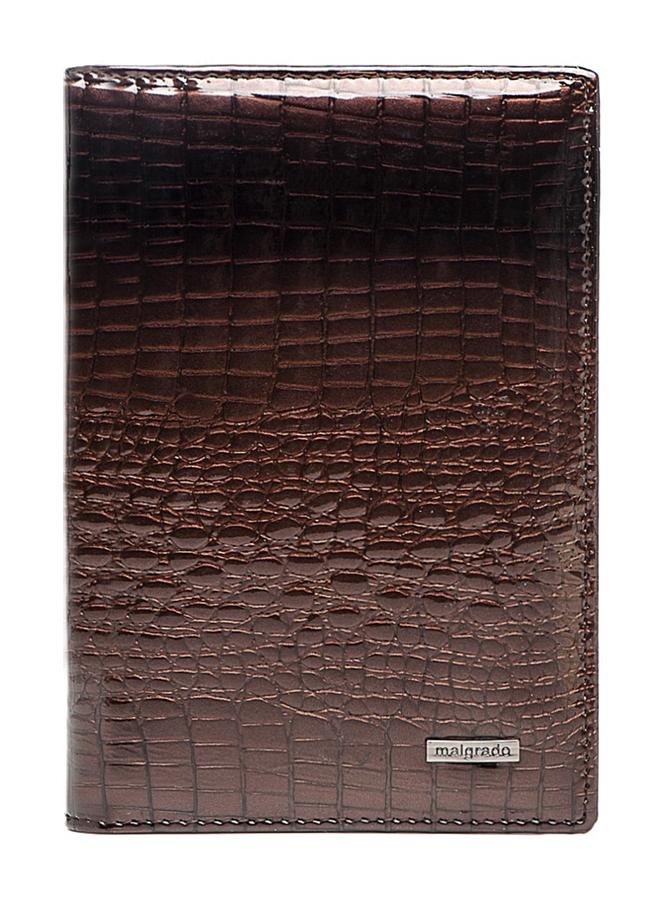 Обложка для паспорта и автодокументов Malgrado, цвет: коричневый. 54019-1-01411 обложка для паспорта malgrado цвет красный 54019 1 44