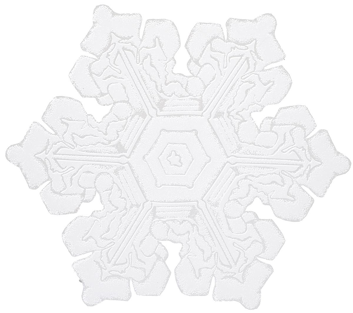 Новогоднее оконное украшение Winter Wings Снежинка, диаметр 29,5 см оконное украшение подарок 17543