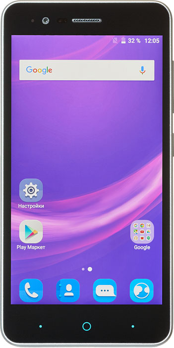 Смартфон ZTE Blade A510 1/8GB, серый