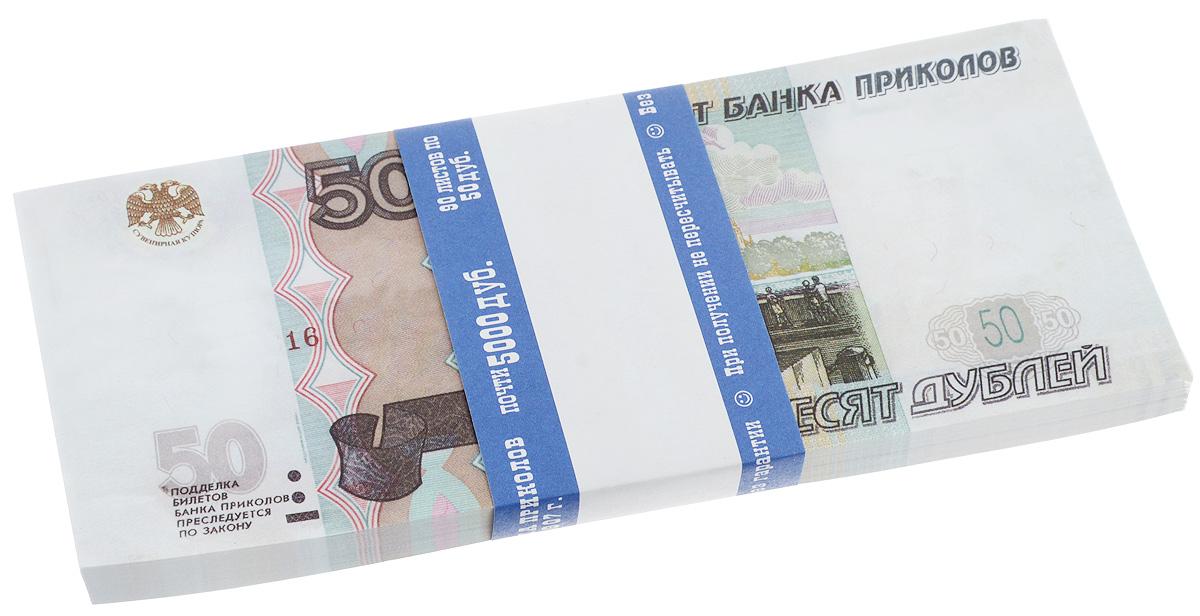 Блокнот Эврика Пачка 50 рублей, 90 листов блокнот 1000 рублей