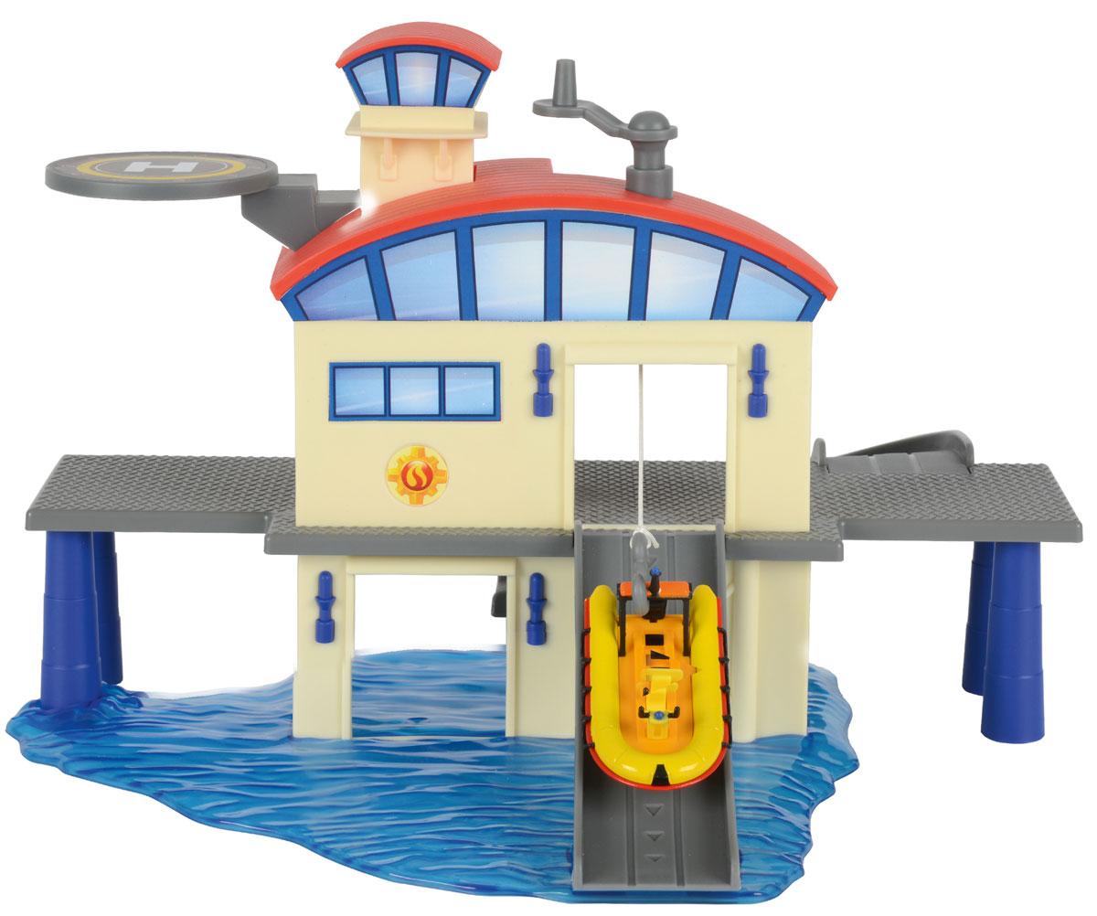 Dickie Toys Игровой набор Морской гараж стоимость
