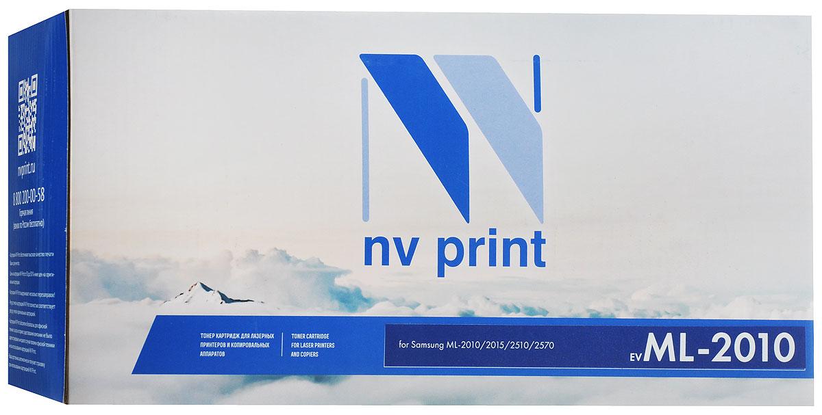 Картридж NV Print ML-2010, черный, для лазерного принтера