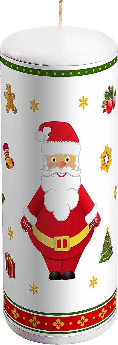 Свеча новогодняя Mister Christmas Дед Мороз, высота 15 см украшение новогоднее подвесное mister christmas дед мороз коллекционное высота 10 см us 661211