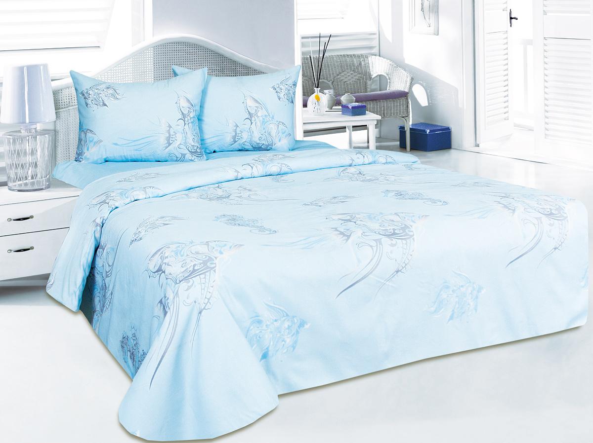 Комплект белья Tete-a-Tete Океания, 2-спальный, наволочки 50x70 комплект белья tete a tete алекто 2 спальный наволочки 50x70