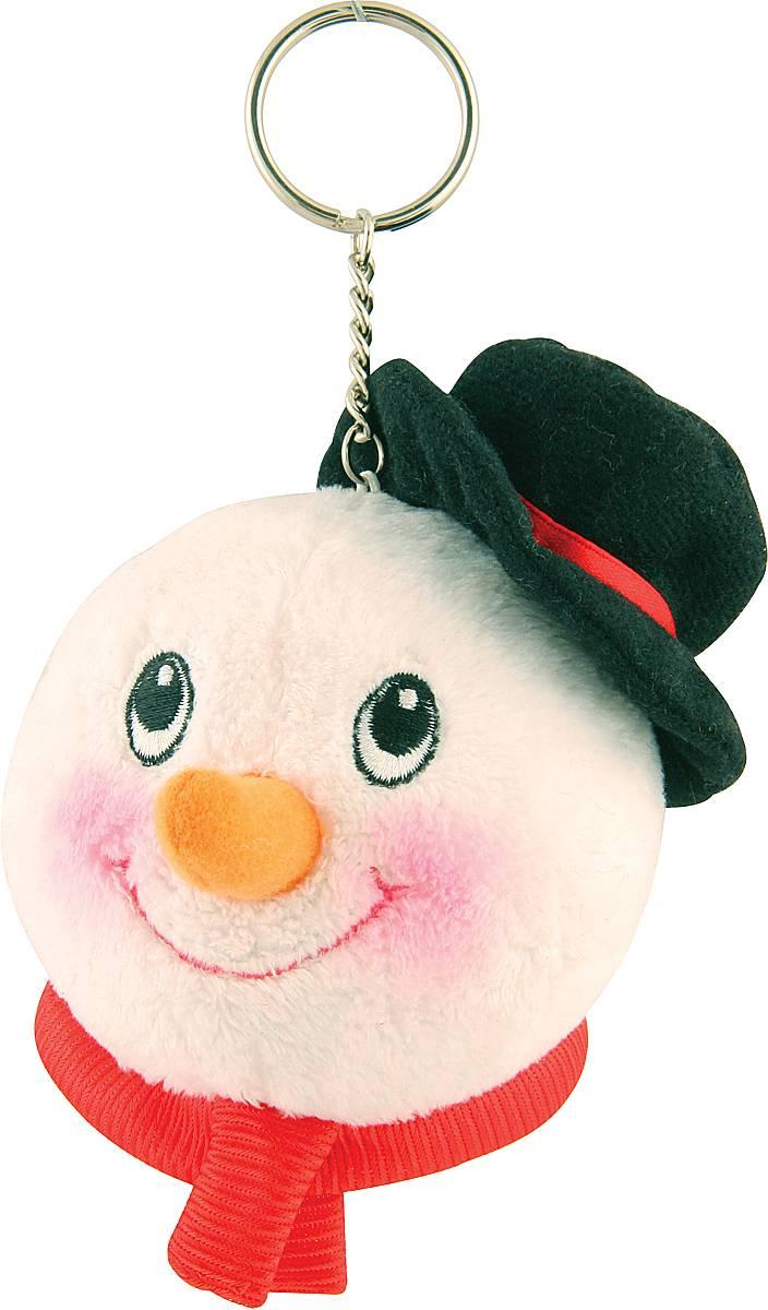 Брелок новогодний Mister Christmas Снеговик, высота 10 см