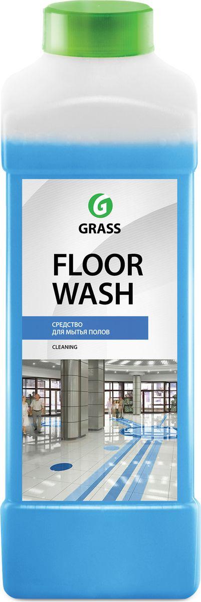 Универсальное чистящее средство Grass Floor Wash для помещений и автомобилей, 1000 мл molecola универсальное моющее средство для пола ламинат экологичный 1000 мл 9233