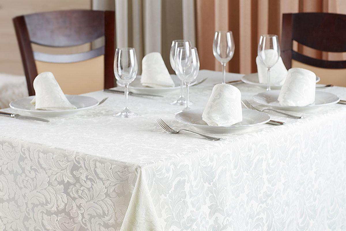 Набор столового белья Primavelle Sofia 7 предметов, слоновая кость скатерти и салфетки мток скатерть 6 салфеток гжель букет набор