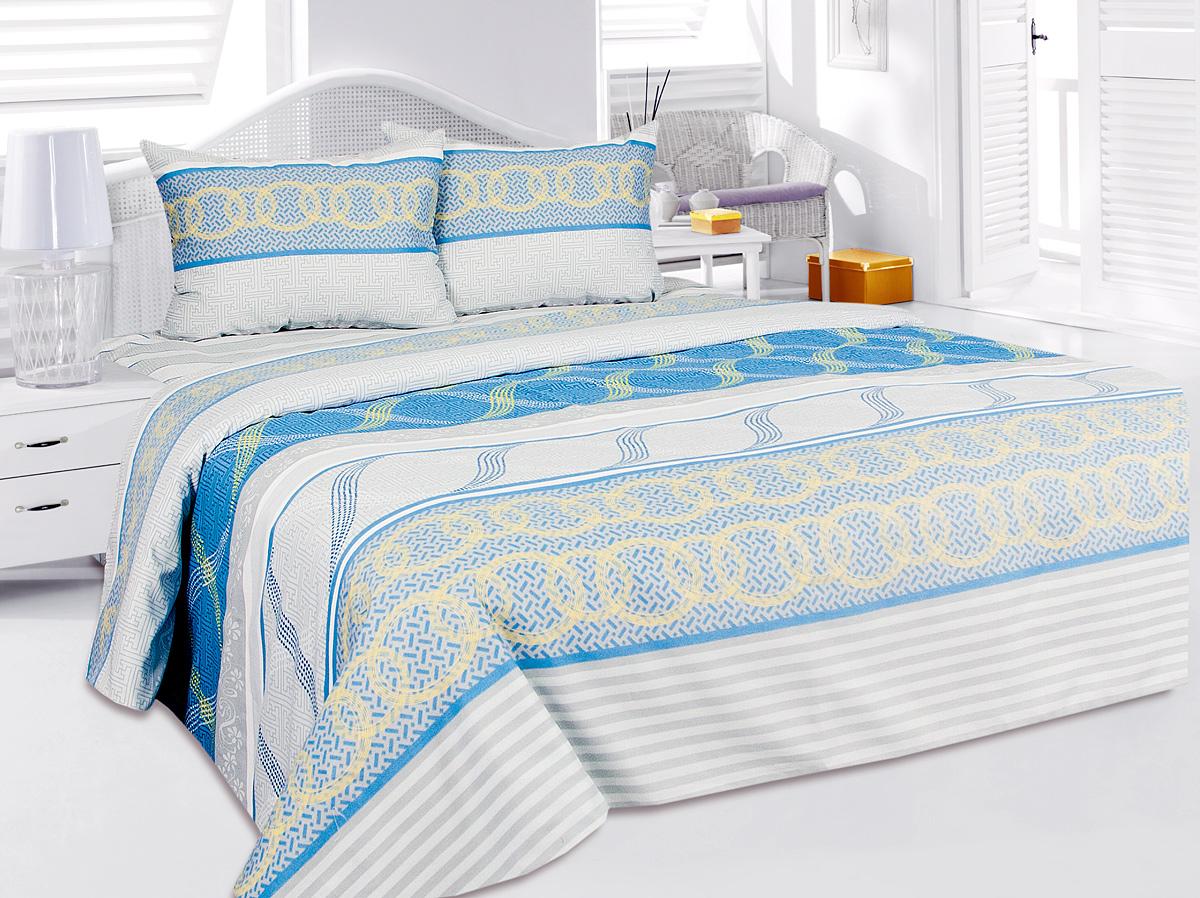 Комплект белья Tete-a-Tete Алекто, 1,5-спальный, наволочки 50x70 комплект белья tete a tete алекто 2 спальный наволочки 50x70