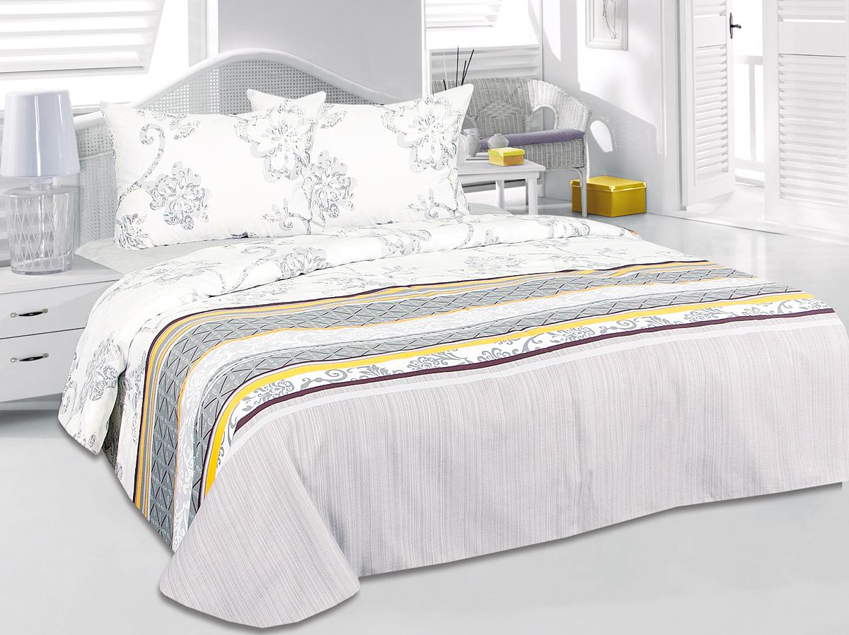 Комплект белья Tete-a-Tete Чара, 1,5-спальный, наволочки 50x70