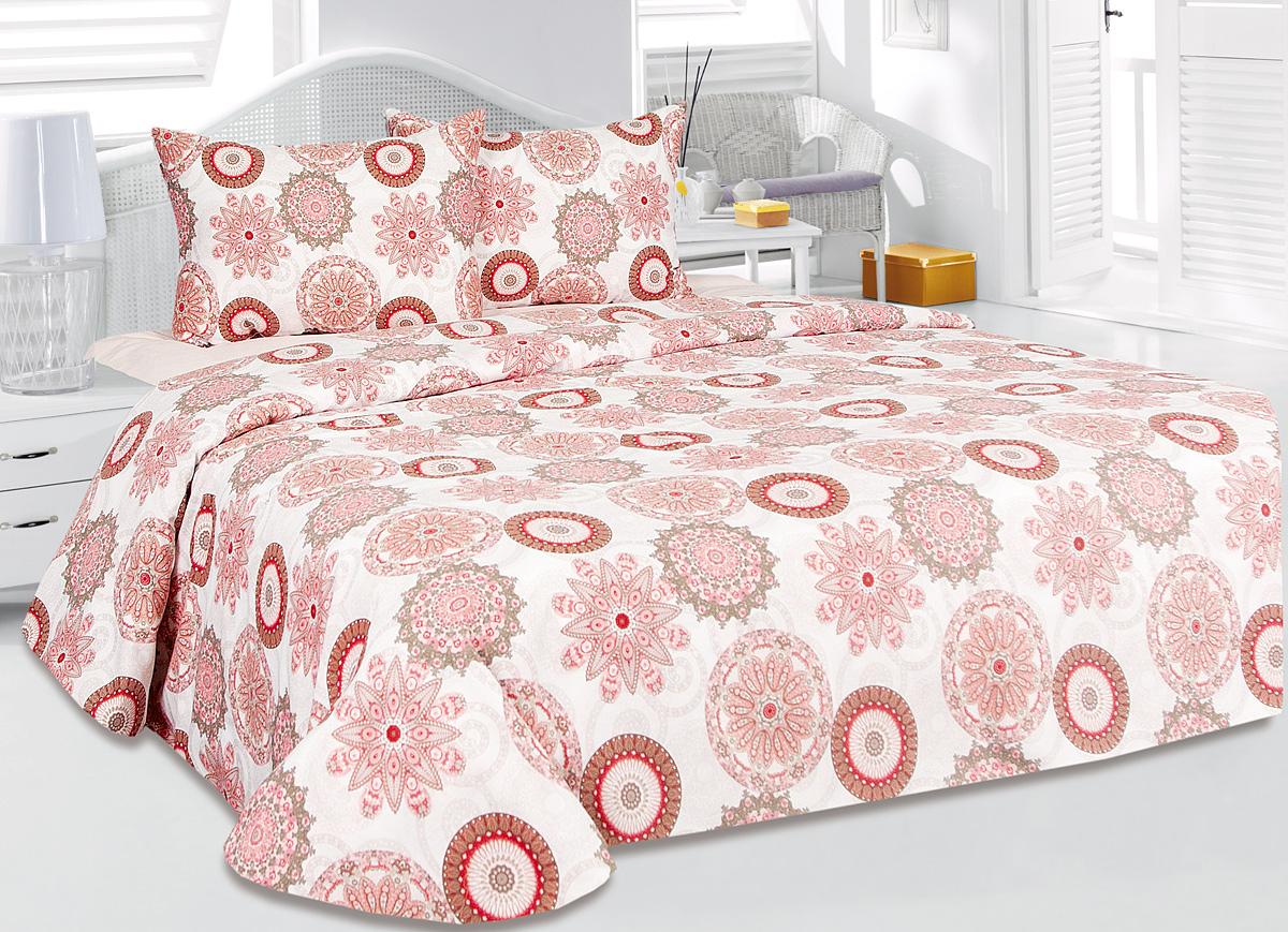 Комплект белья Tete-a-Tete Аврора, 2-спальный, наволочки 50x70 комплект белья tete a tete алекто 2 спальный наволочки 50x70