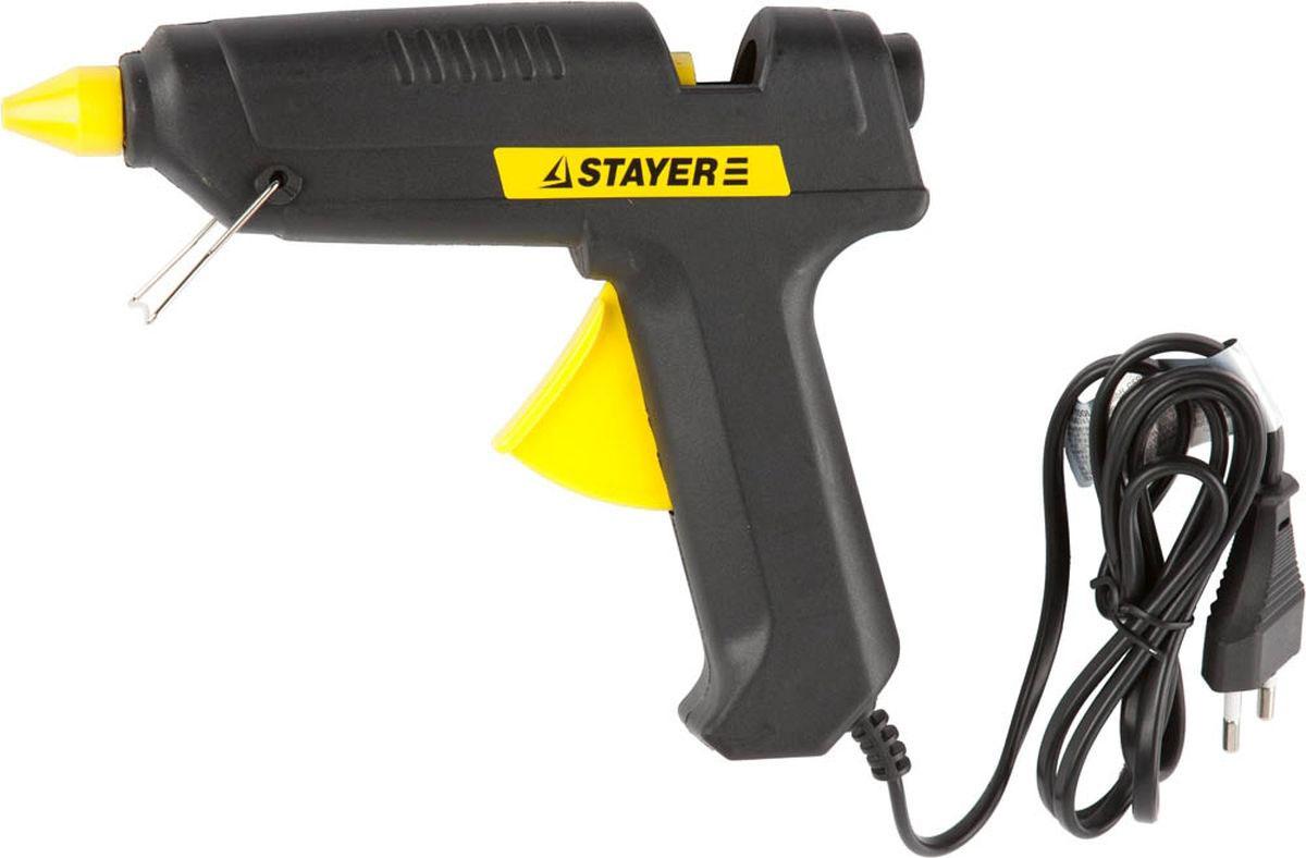 Пистолет клеевой Stayer, электрический, 60 Вт, 11 мм пистолет клеевой dremel 910 для стержней 7 мм