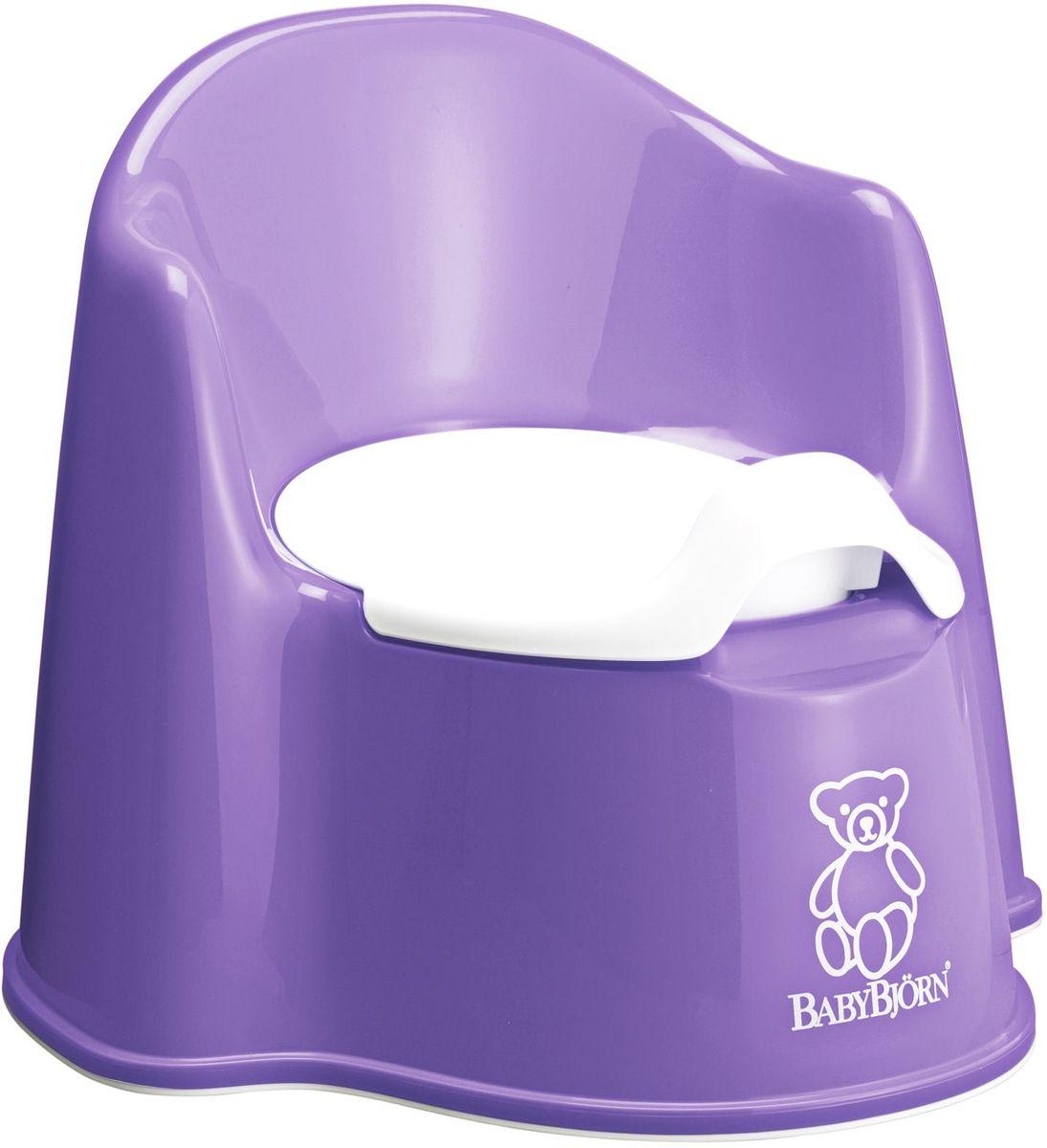 BabyBjorn Горшок-кресло цвет сиреневый горшок детский babybjorn розовый