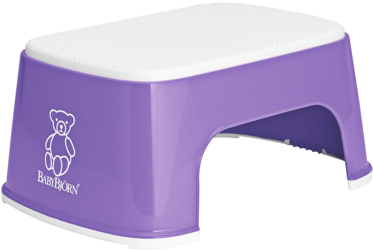 BabyBjorn Стульчик-подставка цвет лиловый стульчик подставка babybjorn цвет серый белый