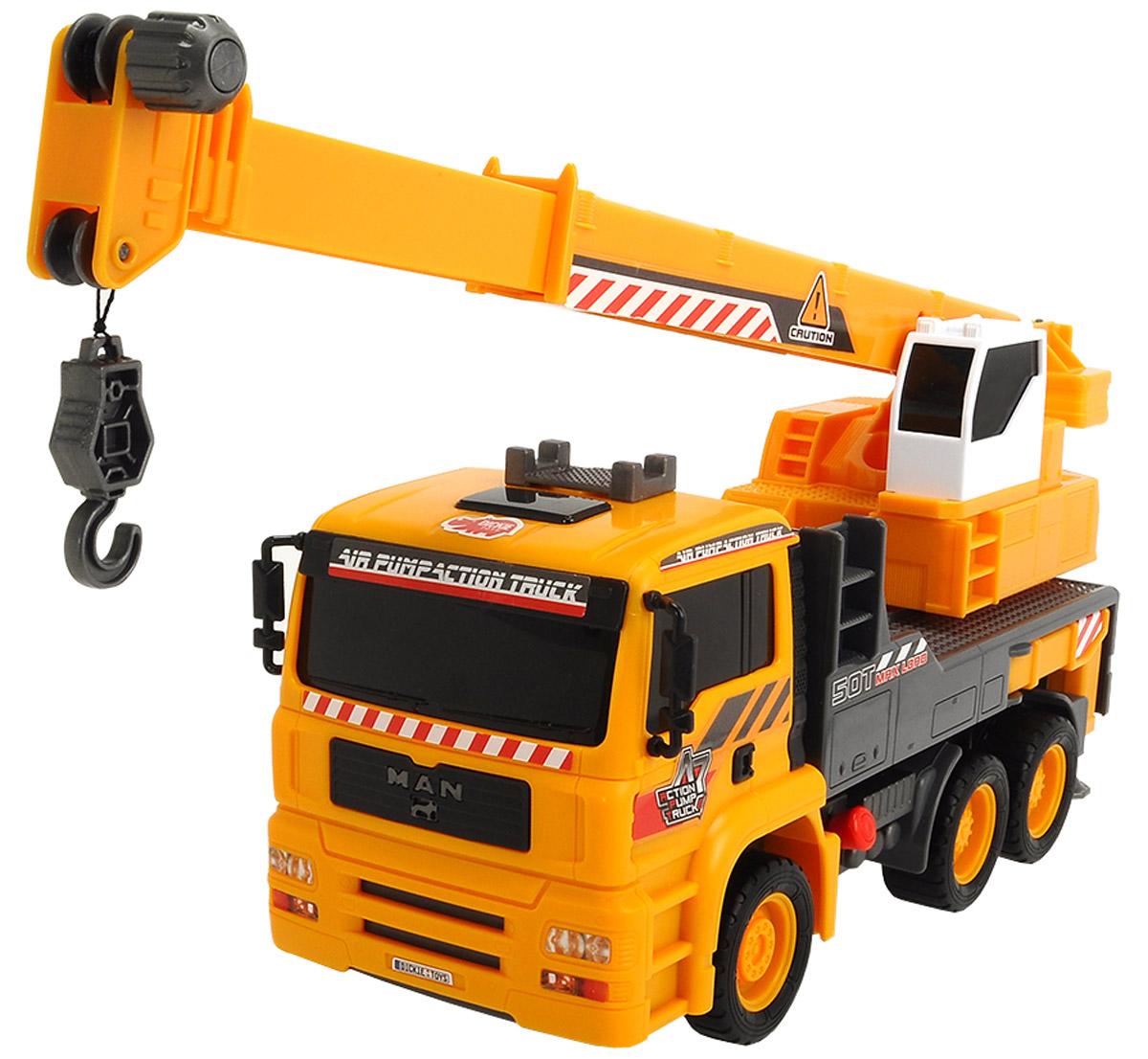 Dickie Toys Автокран AirPump цена