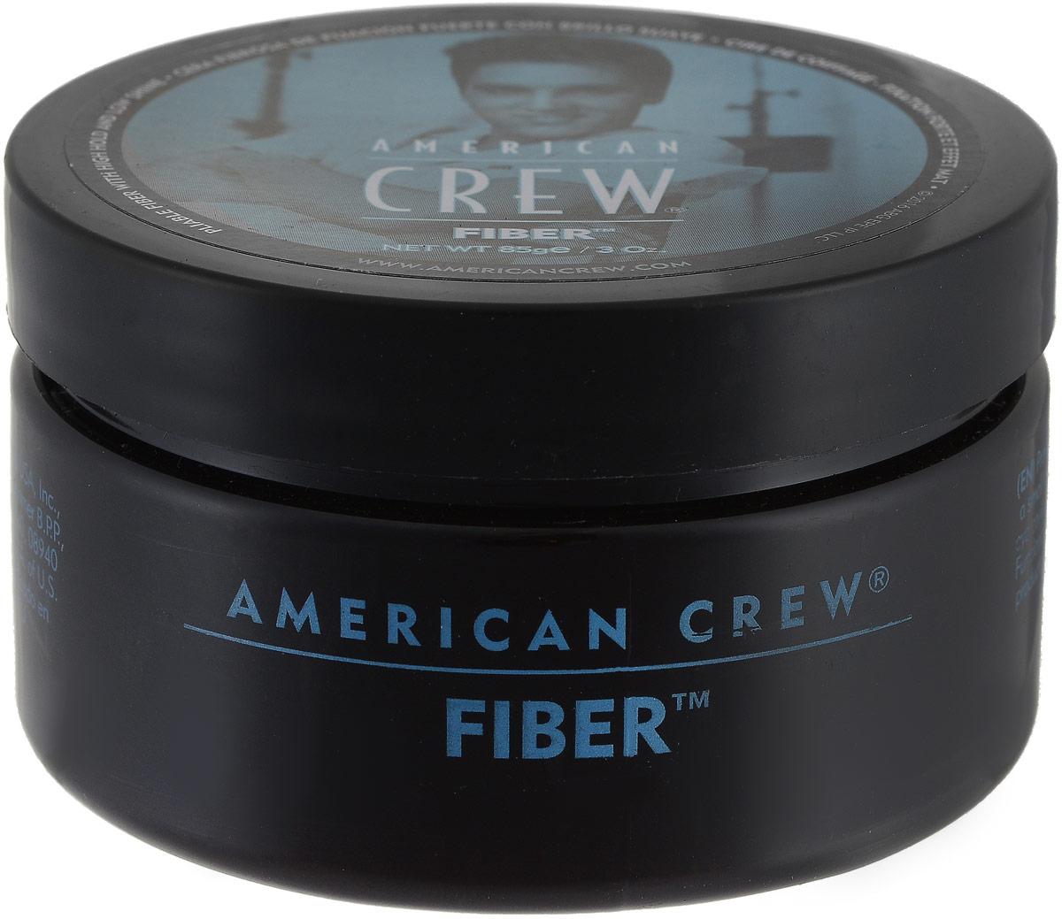 American Crew Паста высокой фиксации с низким уровнем блеска Fiber Gel 85 г american crew формирующая глина для волос мужская сильной фиксации со средним уровнем блеска king classic molding clay 85 г page 4 page 4