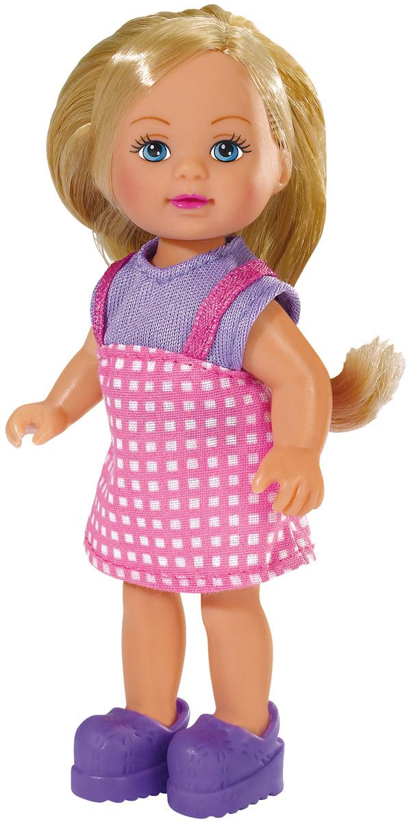 Simba Мини-кукла Еви в летней одежде simba мини кукла еви в летней одежде цвет розовый