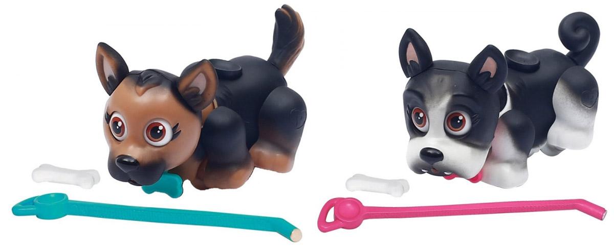 купить Pet Club Parade Игровой набор Собачки немецкая овчарка и французский бульдог недорого